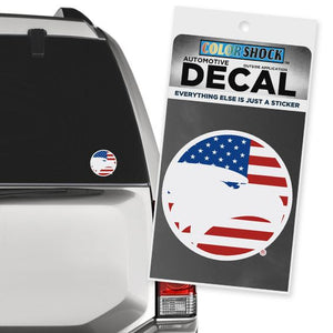 Academic Eagle Patriotic Sticker Decal