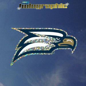 Holographic Athletic Eagle Decal Sticker