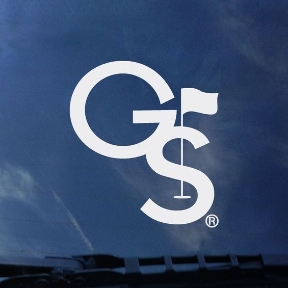 GS GOLF - White Decal Sticker