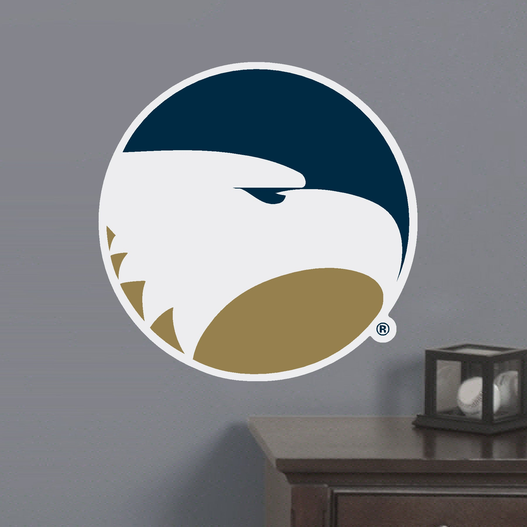 Academic Eagle Head - Large Wall Hanging