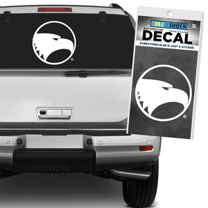 Academic Eagle Head WHITE - EXTRA LARGE Decal Sticker