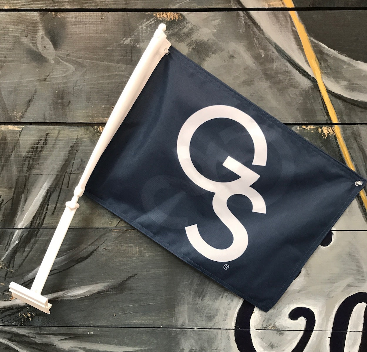 GS Car Flag