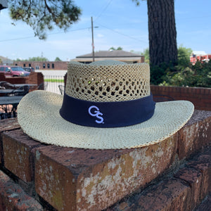 Straw Gambler Hat