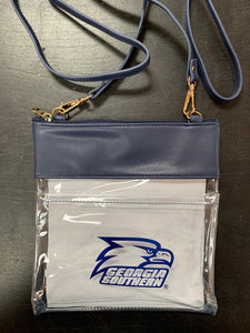 GAMEDAY CROSSBODY CLEAR BAG