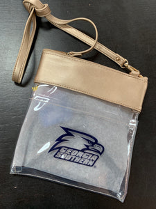 GAMEDAY CROSSBODY CLEAR BAG - Gold