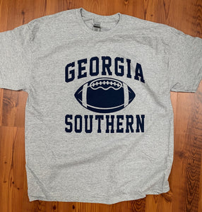 Classic Georgia Southern Football - Athletic Grey Tee