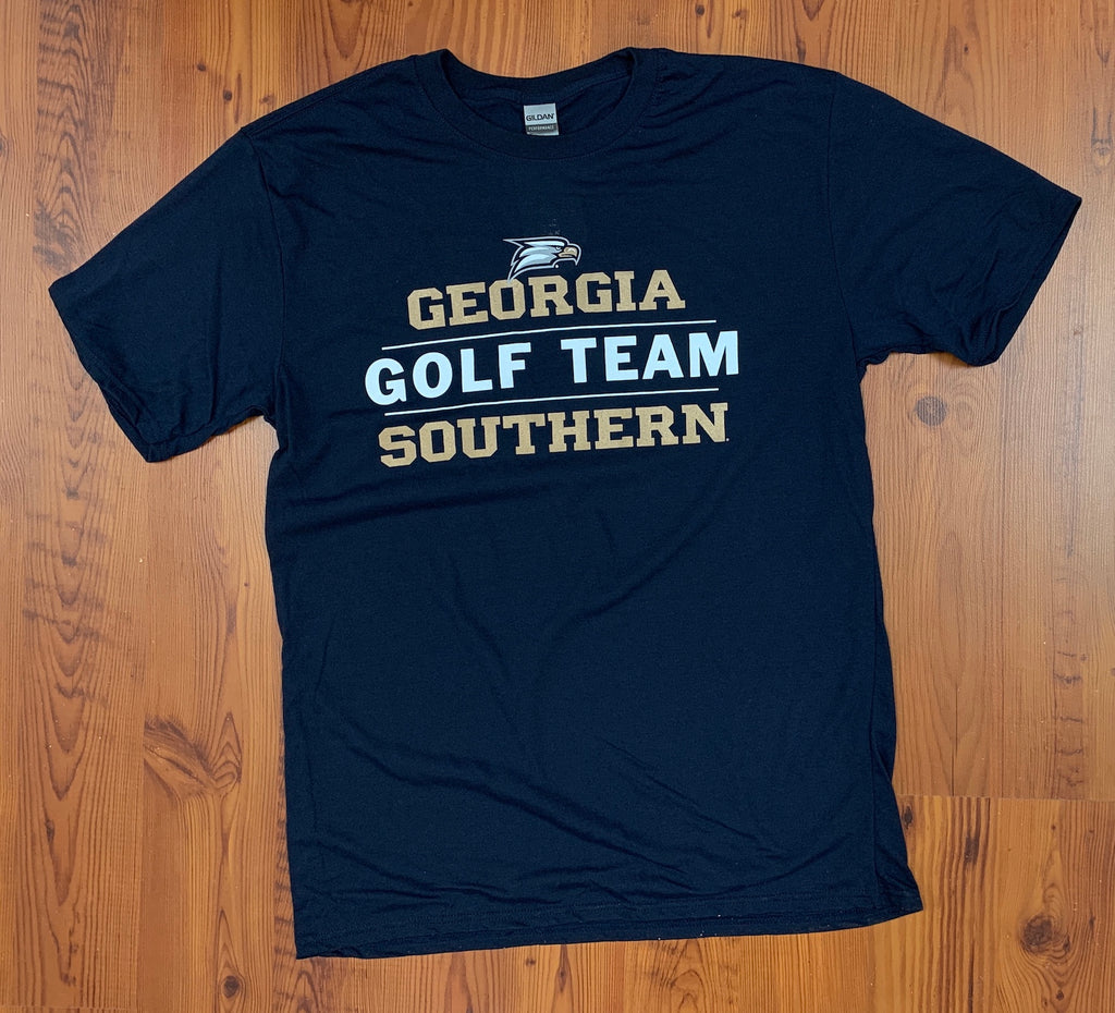 Georgia Southern Golf Stacked - Supersoft Performance