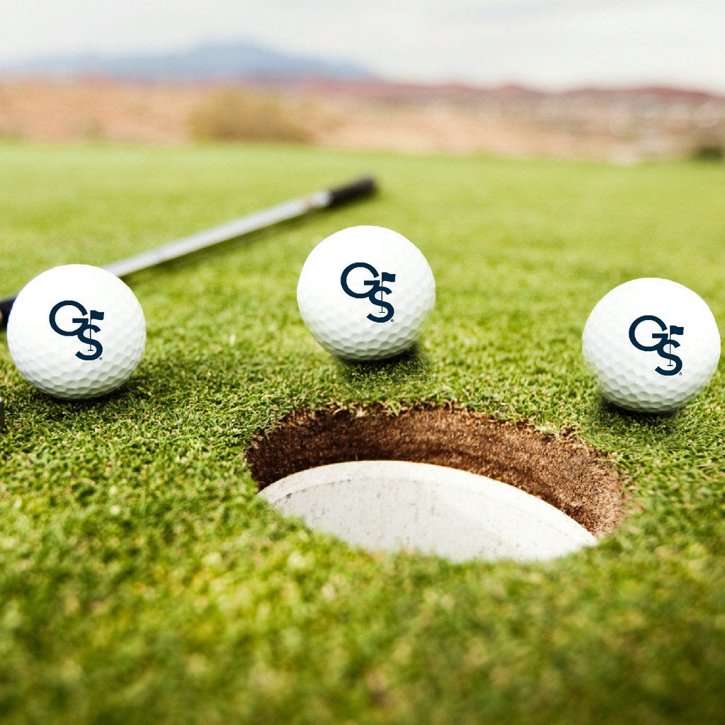 GS Golf Logo Golf Balls- Set of Three