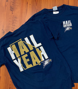 STATE PRIDE HAIL YEAH - Comfort Colors Navy