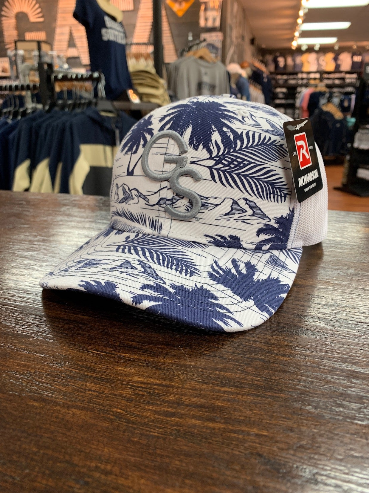 Richardson 112 - Island Print Trucker