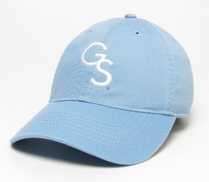 Interlocking GS Relaxed Twill Cap - Light Blue
