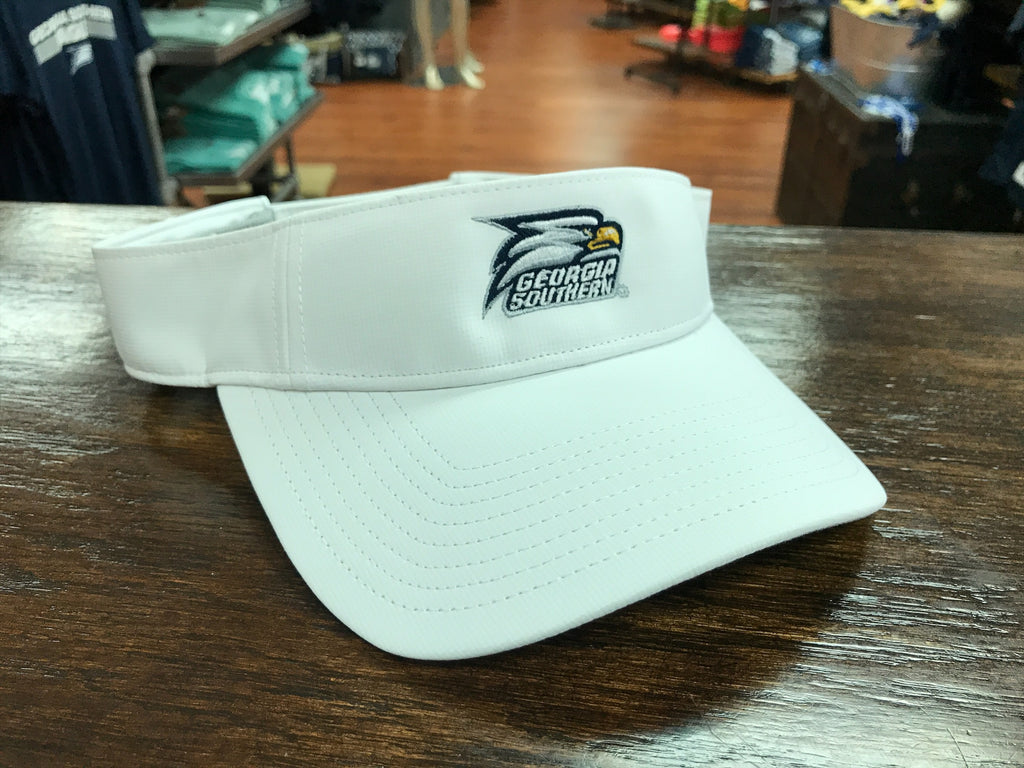 Ultralight Visor White - Athletic Eagle Head