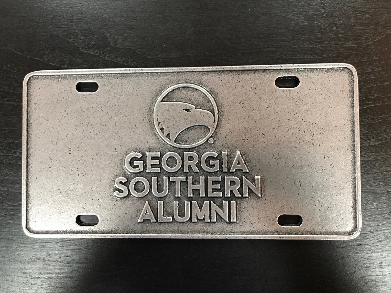 Heavy Duty Metal License Plate - Alumni