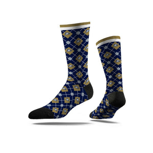 Dress Sock - Argyle Pattern