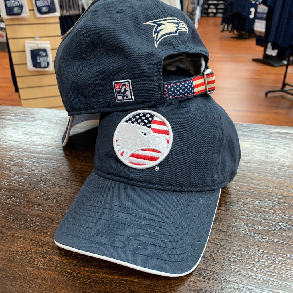 Stars and Stripes Eagle Cap - Navy
