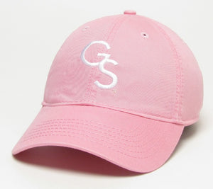 Interlocking GS Relaxed Twill Cap - Oxford Pink