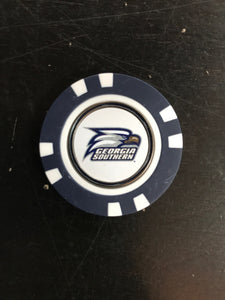 Poker Golf Chip with Ball Marker