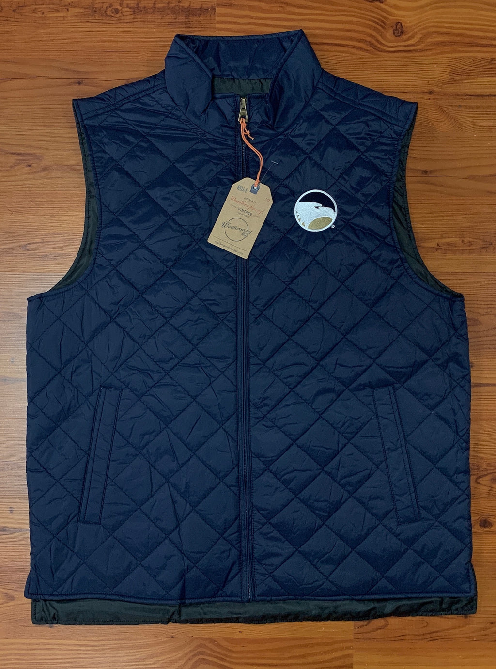 Mens Quilted Diamond Vest by Weatherproof