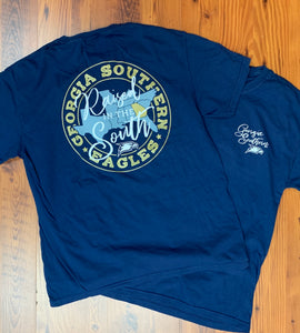 YOUTH Raised In The South - Comfort Color Navy
