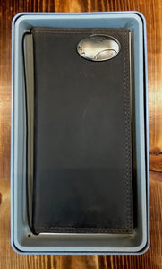 Roper Wallet - Leather with Metal Concho