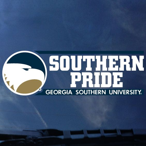 "SOUTHERN PRIDE Decal Sticker - 2"" x 6.5"""