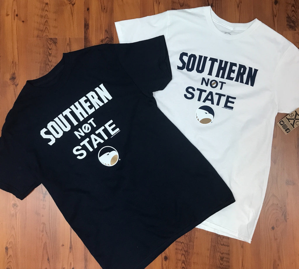 Southern Not State - White and Navy