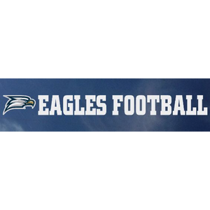 Football Decal Sticker - 15""