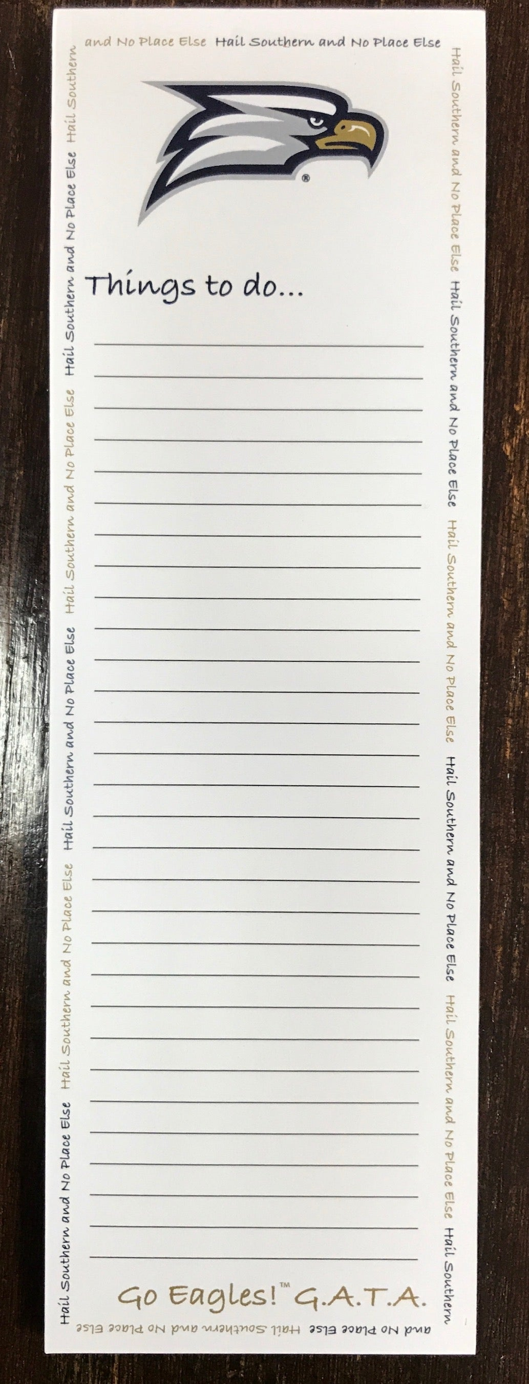 To Do Note Pad with Magnet