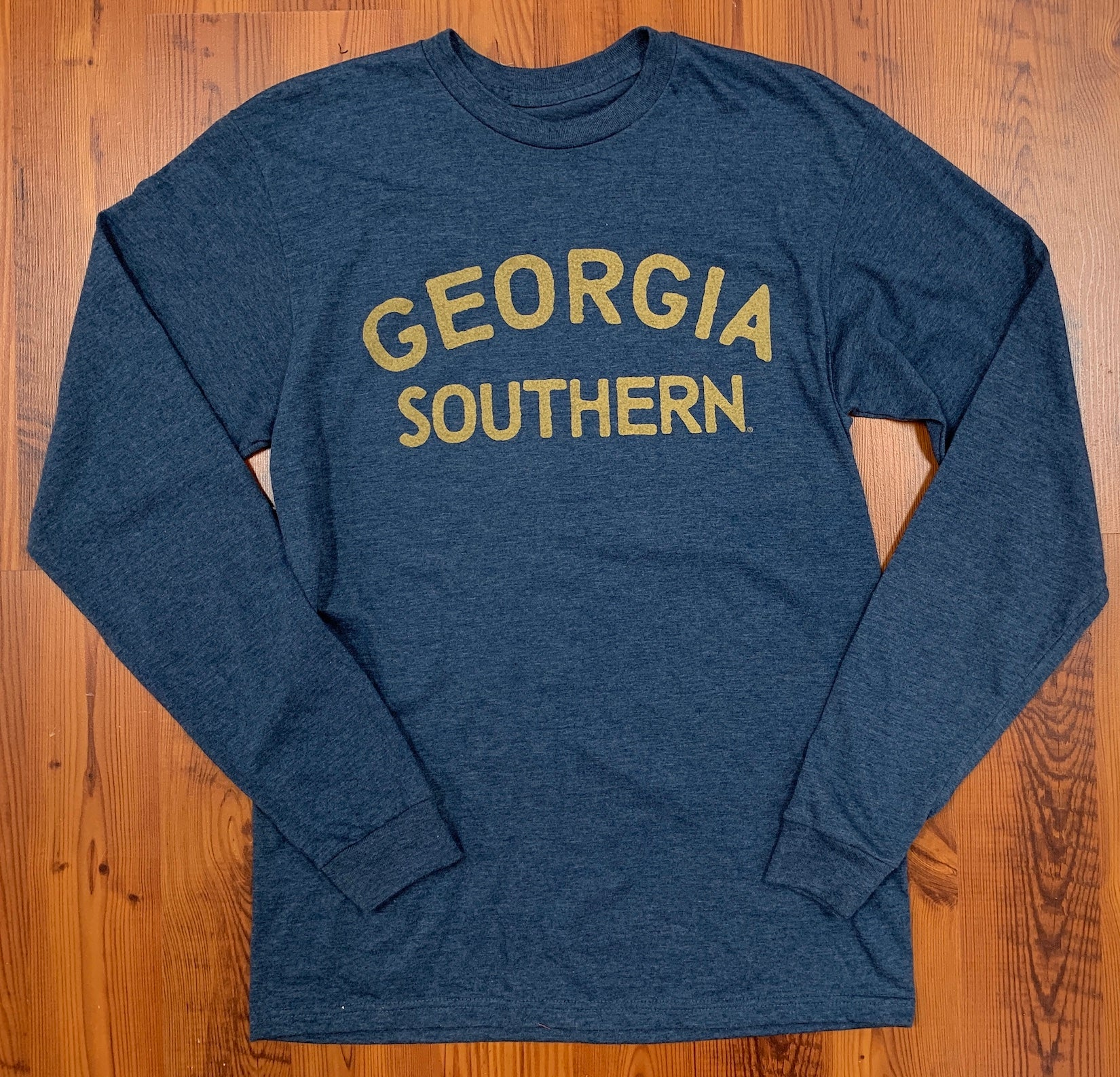 The Vintage Supersoft Long Sleeve Tee - Heather Denim