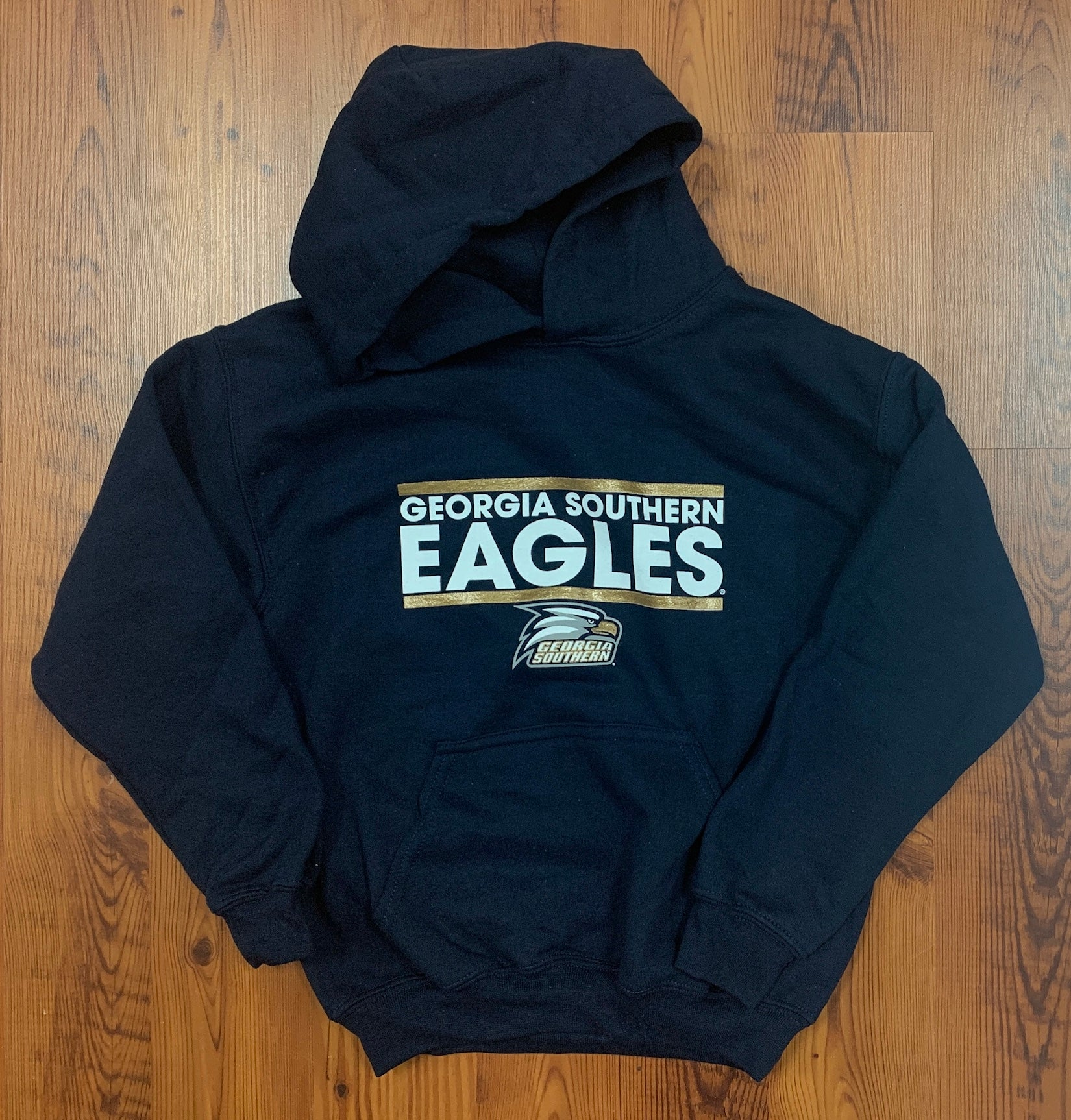 YOUTH Hoody Sweatshirt - Stacked Eagles