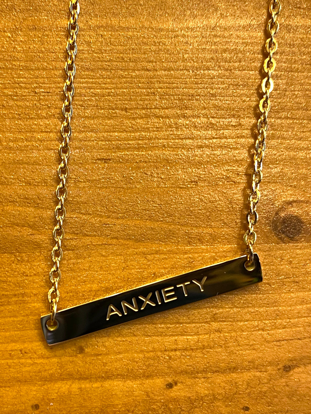 Anxiety, Anxious, Depression Necklace