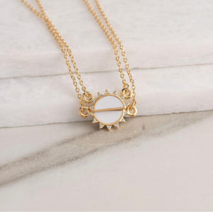 Bryan Anthony's You are my Sunshine Necklace - Gold/white