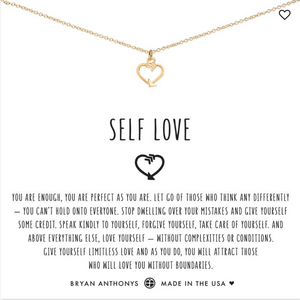 Bryan Anthony's Self Love Necklace  - GOLD