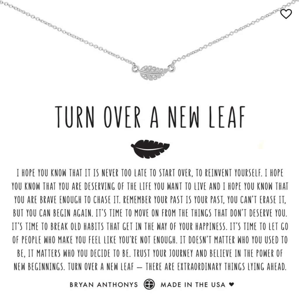 Bryan Anthony's Turn Over a New Leaf Necklace