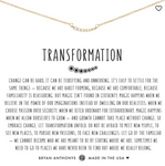 Bryan Anthony's Transformation Necklace
