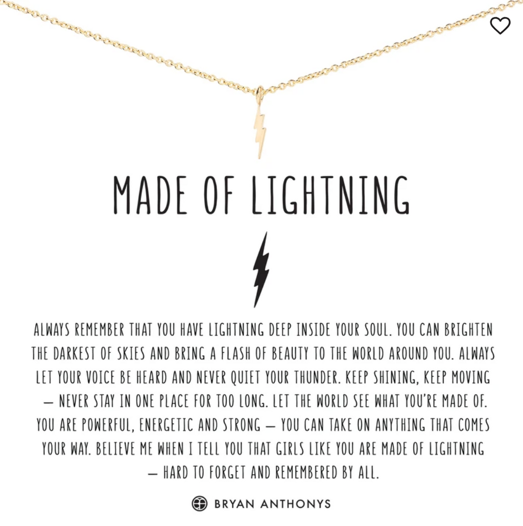 Bryan Anthony's Made of Lightning Necklace