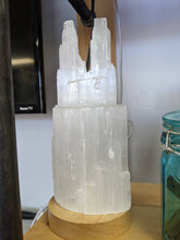 Load image into Gallery viewer, Selenite Tower Lamp - Wellness Underground