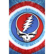 Grateful Dead Steal Your Face Tapestry - Wellness Underground
