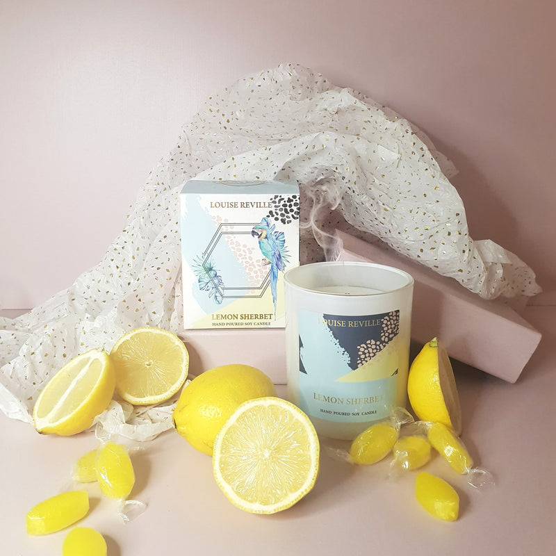 Lemon Sherbet Candle