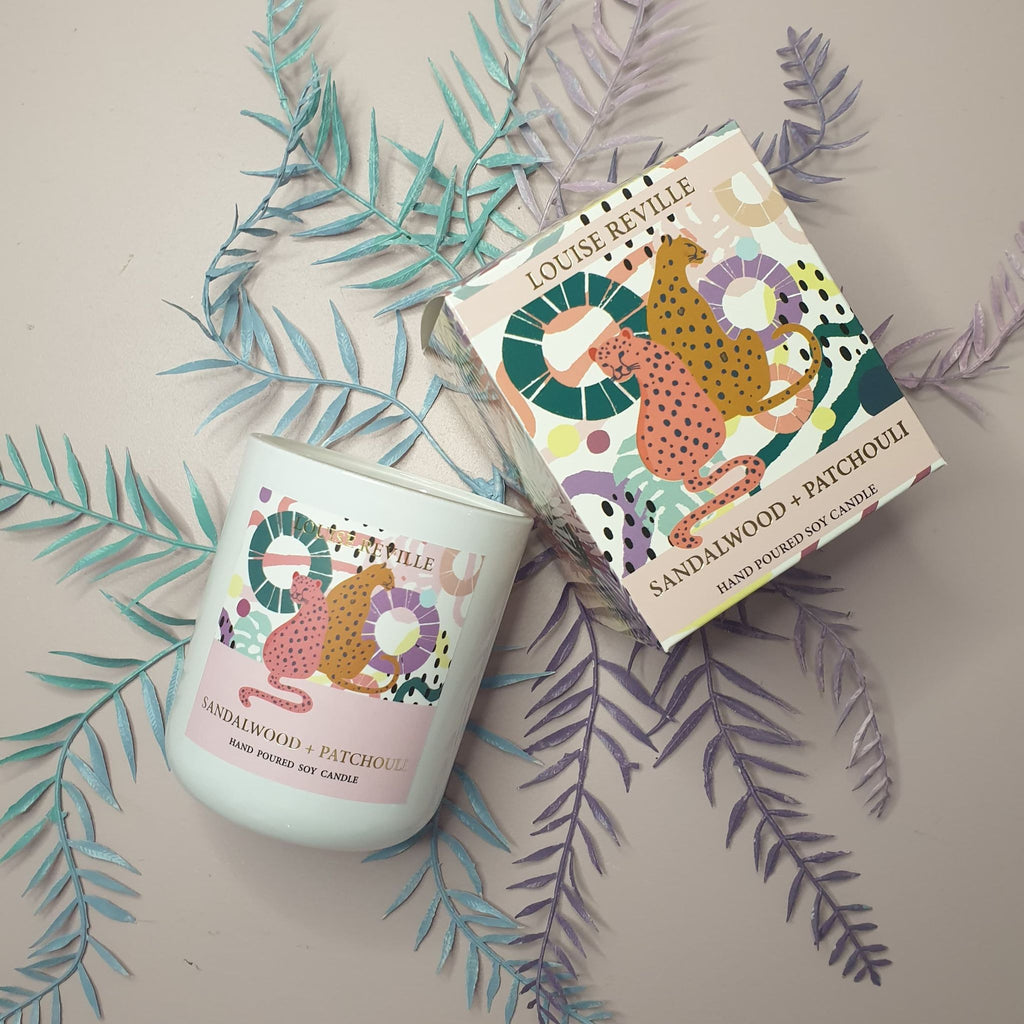 Limited Edition Sandlewood & Patchouli Candle
