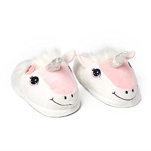 Happy Unicorn Soft Slippers