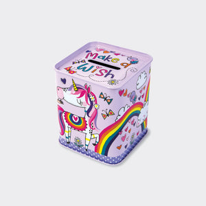 Princess & Unicorn Money Tin
