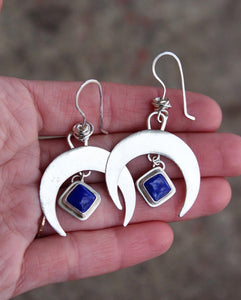 Small Crescent Moon Earring #10