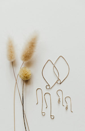 Intermediate Metalsmithing: Build 3 Types of Handmade Ear Wires
