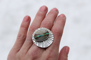 Sunburst Ring #8