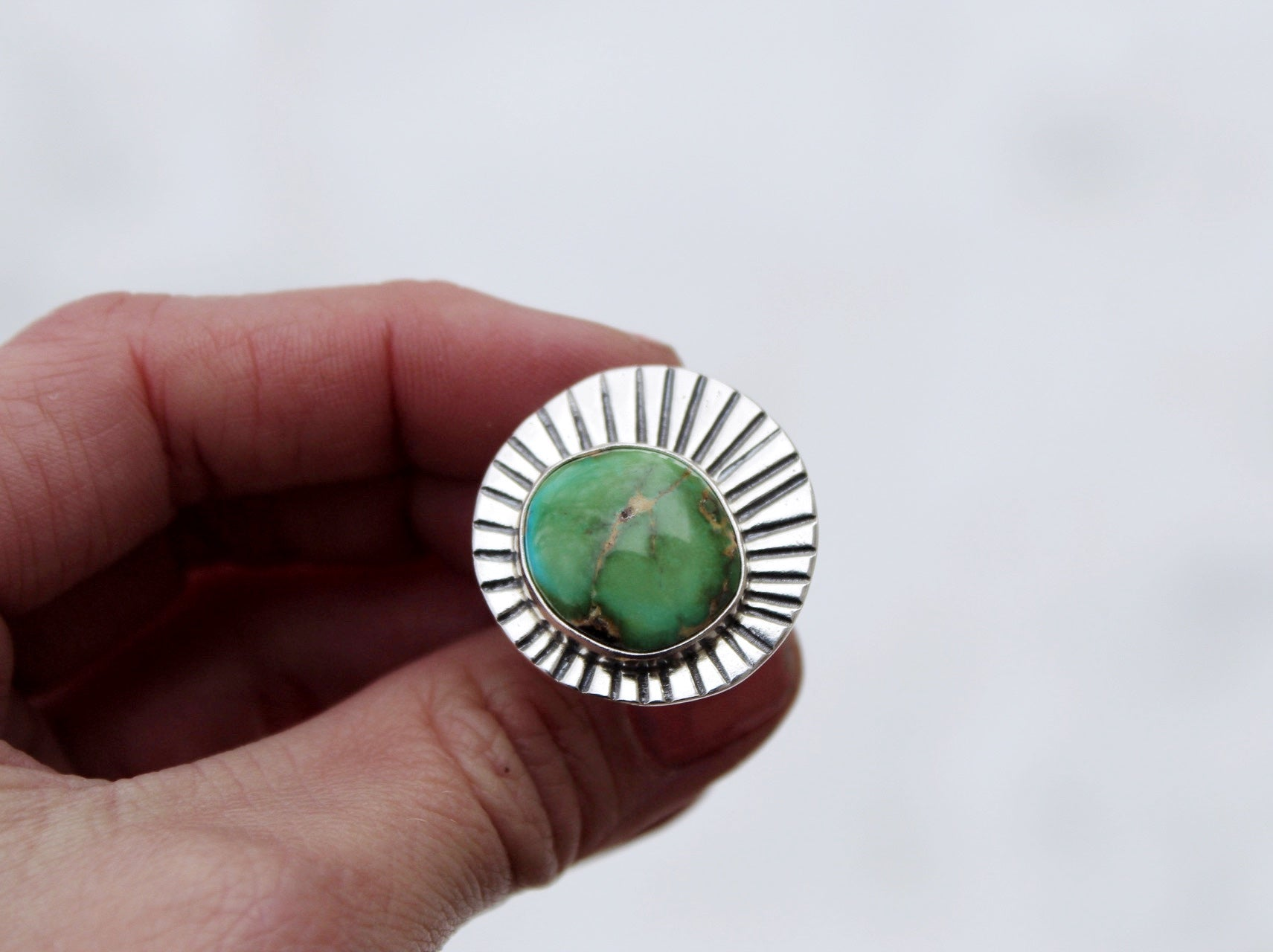 Sunburst Ring #9