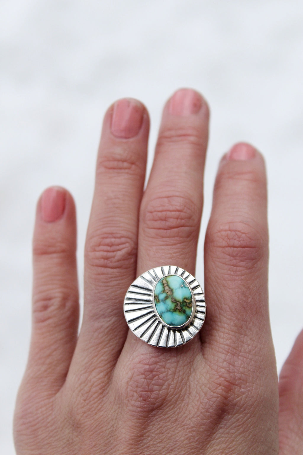 Sunburst Ring #11