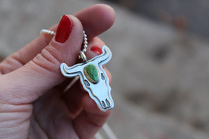 Bull Skull Necklace #11