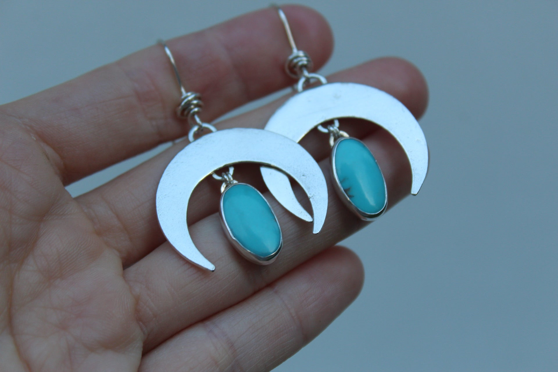 Small Crescent Moon Earring #16