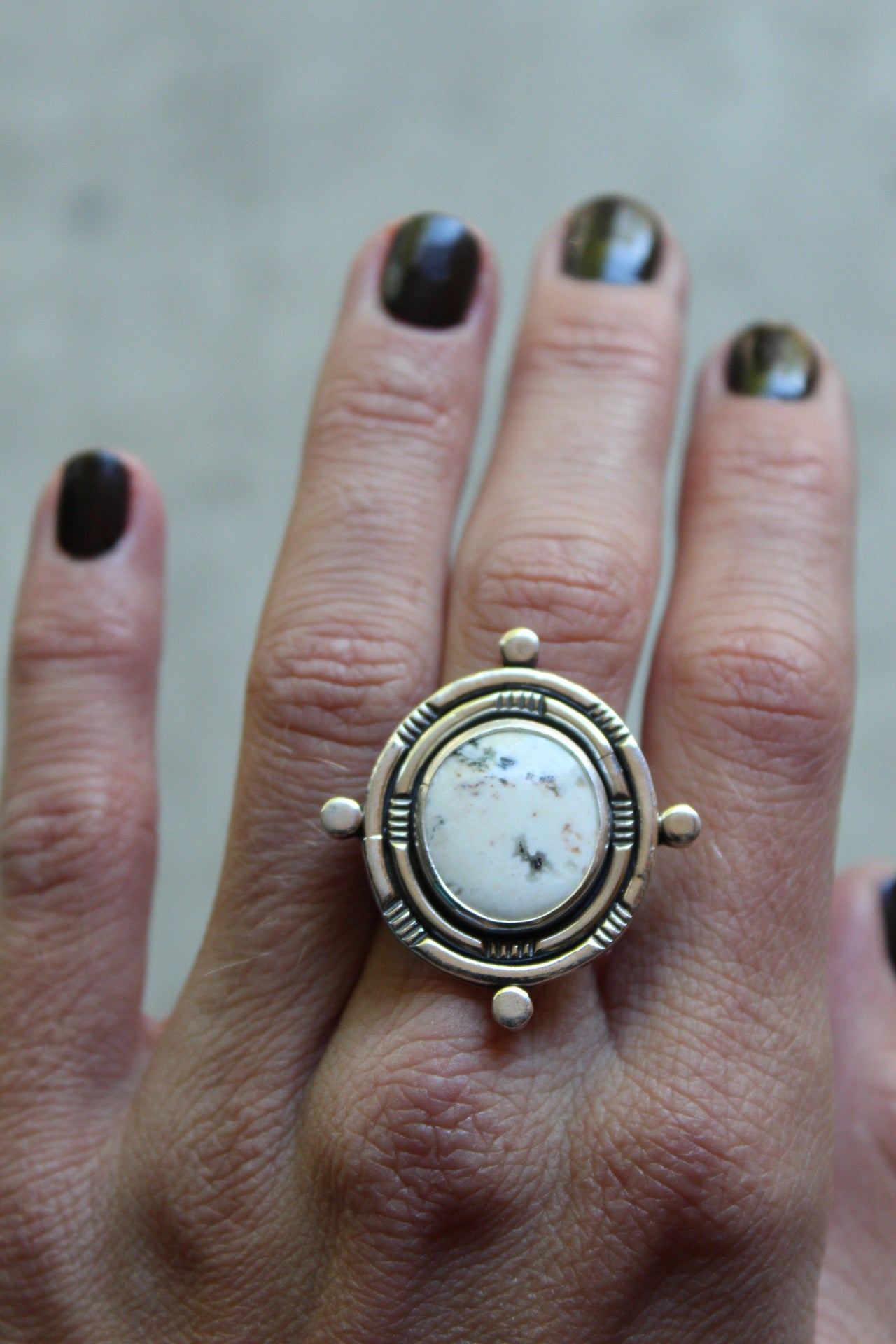 Compass Collection Ring #4- Size 6.75